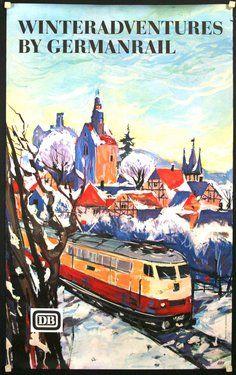 Winter Adventures _______________________________ Deutsche Bundesbahn
