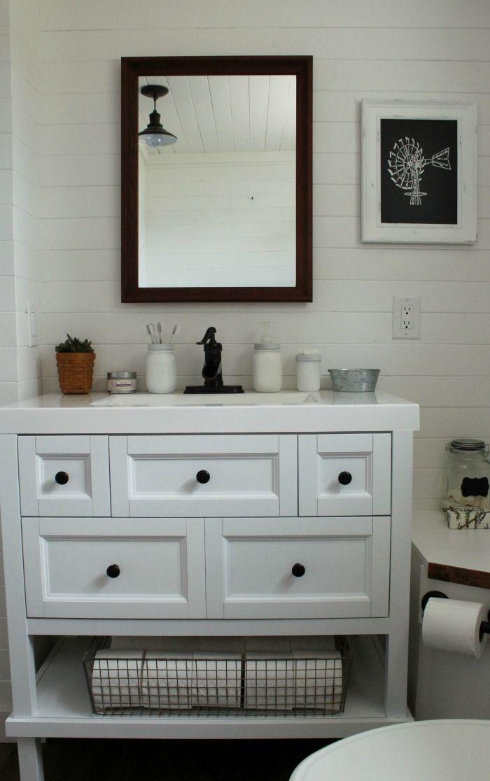 Choosing The Right Farmhouse Bathroom Vanity Cottage Style