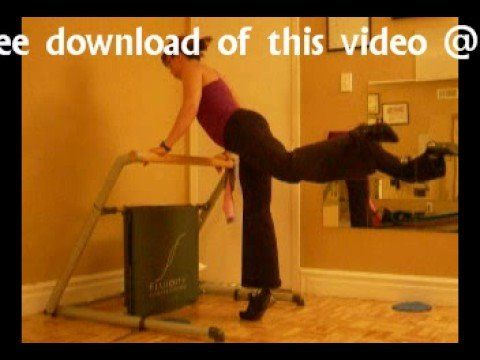 Pilates Yoga Workout with Fluidity Machine