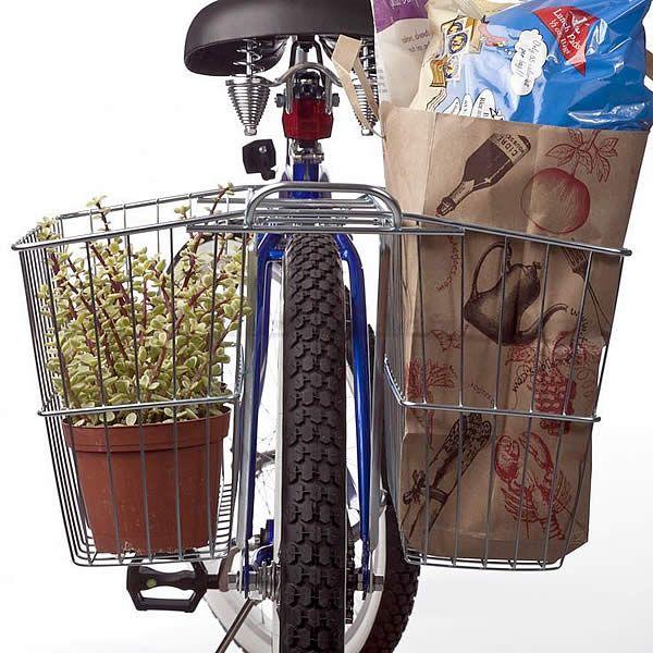 Wald 520 dubbele fietsmand achter 64,95 gratis verzending #fiets #lifestyle