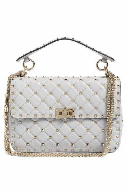 9ebcbdd2693 Valentino Rockstud Spike Medium Shoulder Bag  Valentino