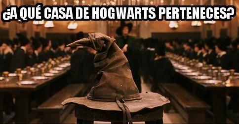 ¿A què casa de HOGWARTS perteneces?