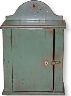 Shaker Cabinet...love the paint color.