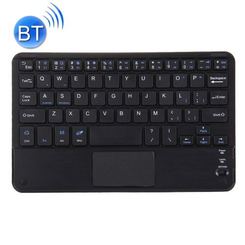 [$13.13] Mini Universal Portable Bluetooth Wireless Keyboard with Touch Panel, Compatible with All Android & Windows Smartphone / Tablets with Bluetooth Functions (Black)