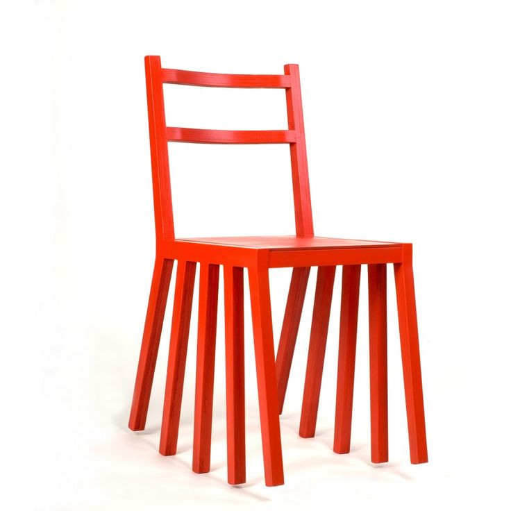 Ku Dir Ka by Paulius Vitkauskas A rocking chair with ten legs perfectly aligned for a smooth ride.