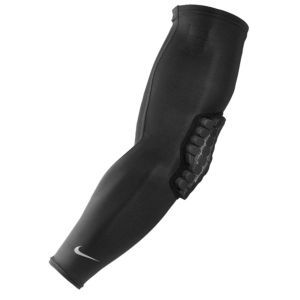 Nike Pro Combat Padded VIS Sleeve - Men's - Basketball - Sport Equipment - Black