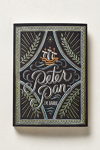 Peter Pan (Or any awesome collectible book from Anthro or B&N)
