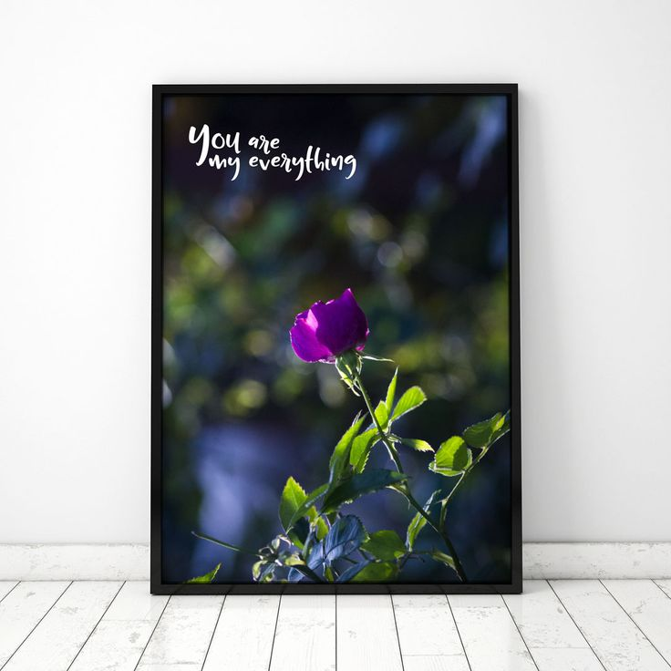 Plakat: You are my everything