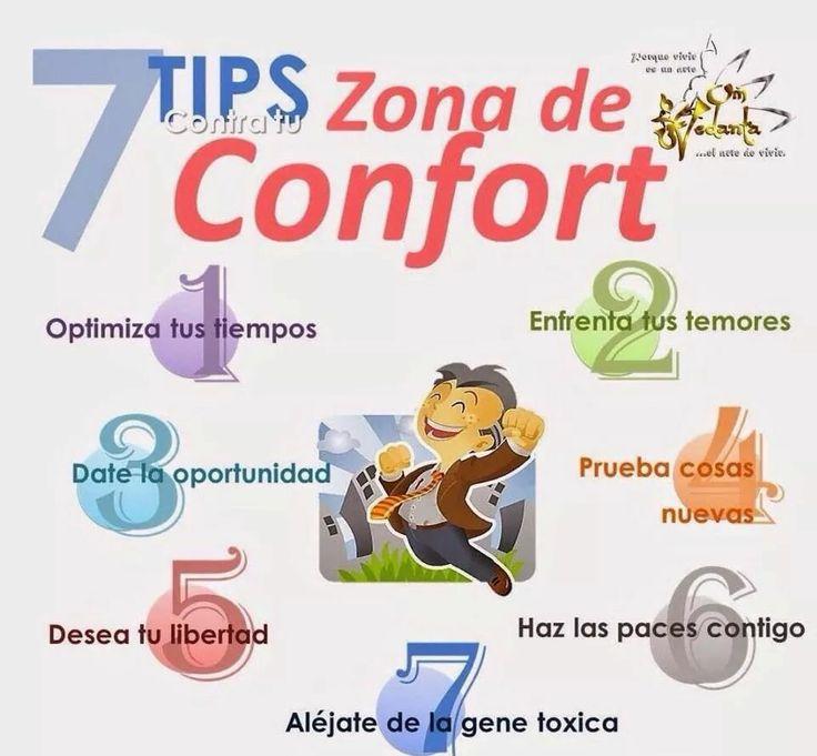 Tips para salir de la zona de confort