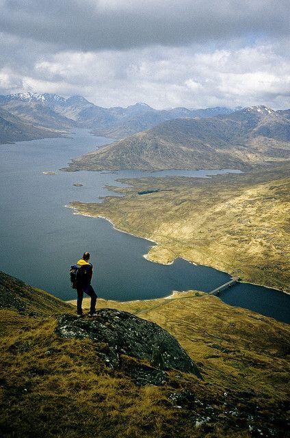 Loch Quoich, NW Highlands, Scotland by David May, via Flickr #WOWwalks