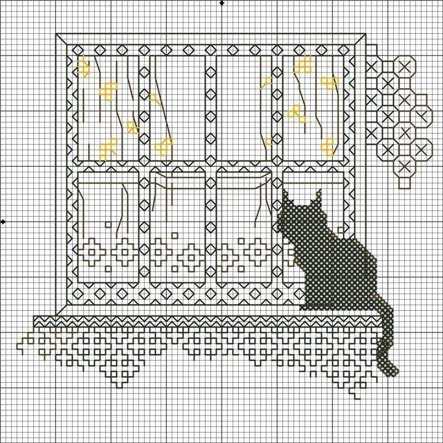 Gatti alla finestra 4