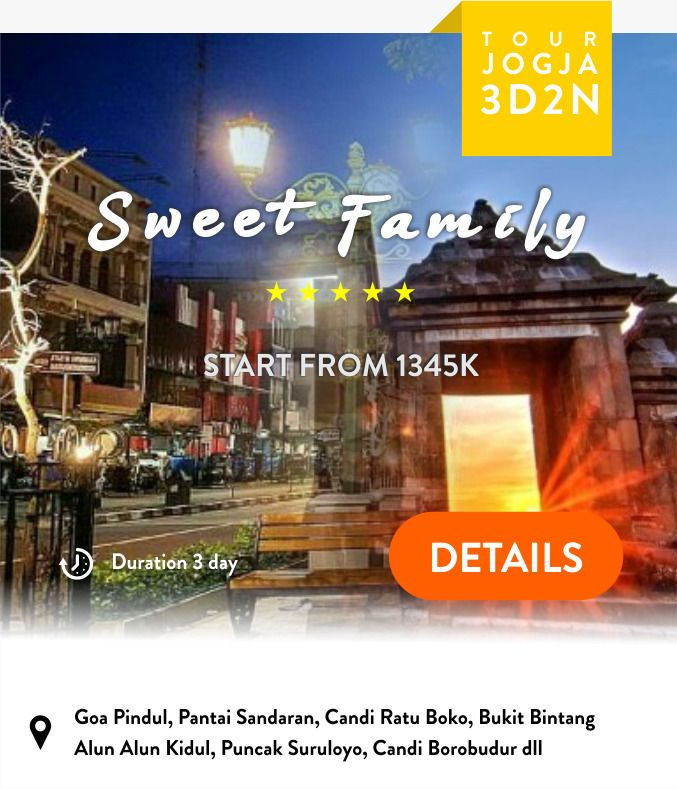 Paket Wisata Yogyakarta 3 Hari 2 Malam tugu wisata