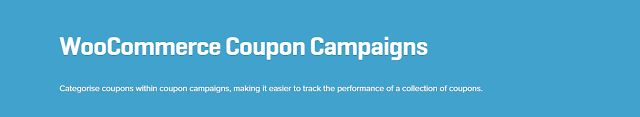 WooCommerce plugins: WooCommerce Coupon Campaigns Extension 1.0.2