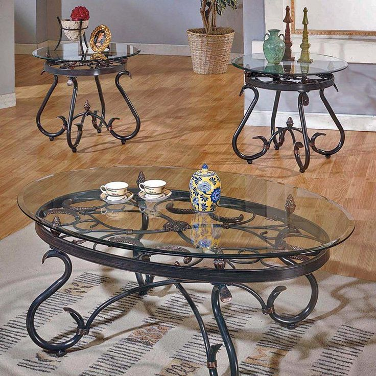 Steve Silver Tables 376 For The Set Of 3 Tables Hayneedle Cheap Coffee