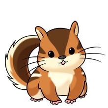 Chipmunk - Lots of clip art on this site