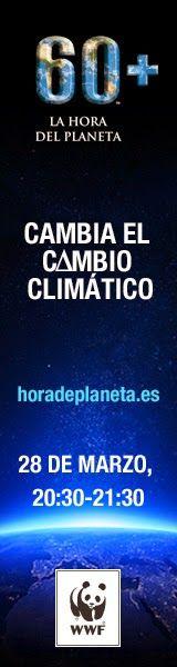 Recursos para la Educación Ambiental: La Hora del Planeta – 28 de marzo - La Hora del Planeta es la mayor campaña global de movilización y lucha contra el cambio climático organizada por WWF. Cada año durante una hora se apagan simultáneamente las luces en todo el mundo - Más información y selección de videos para su difusión.