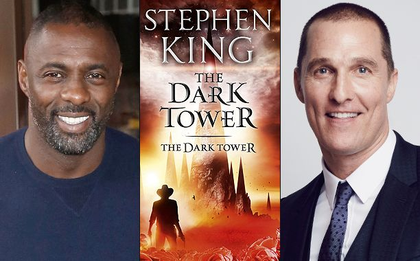 The tower has begun to peek above the horizon.  After many years, and many attempts, a film version of Stephen King's The Dark Tower is finally getting underway with Idris Elba confirmed as The Gunslinger, Roland Deshain, and Matthew McConaughey as The Man in Black. #TheDarkTower #Film