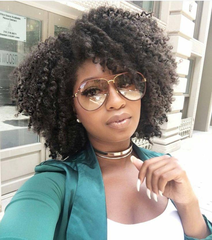 Astounding 1000 Ideas About Natural Black Hairstyles On Pinterest Black Short Hairstyles For Black Women Fulllsitofus