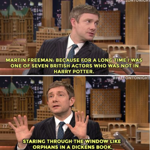 Poor boy!! Quick let's remake the movies so Martin can live his dream!
