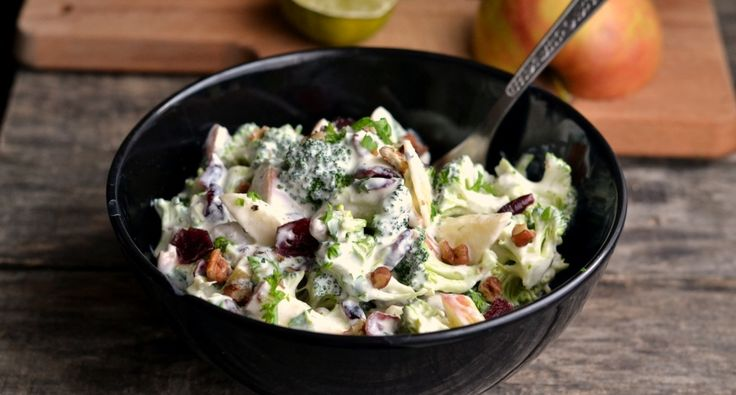 Brokkolis almás saláta recept | APRÓSÉF.HU - receptek képekkel