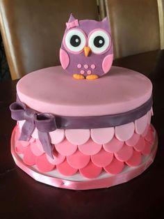 Znalezione obrazy dla zapytania owl cake