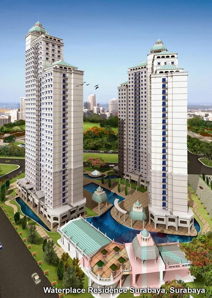 APARTEMEN DIJUAL Dijual Murah Penthouse Di Apartement Mewah Grande Waterplace Pakuwon