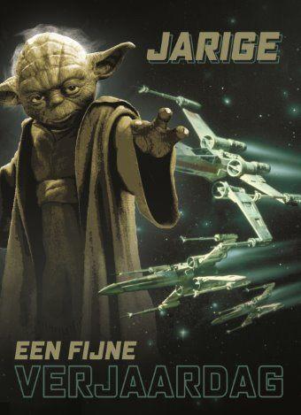 Yoda wenst je een fijne verjaardag #Hallmark #HallmarkNL #Disney #StarWars