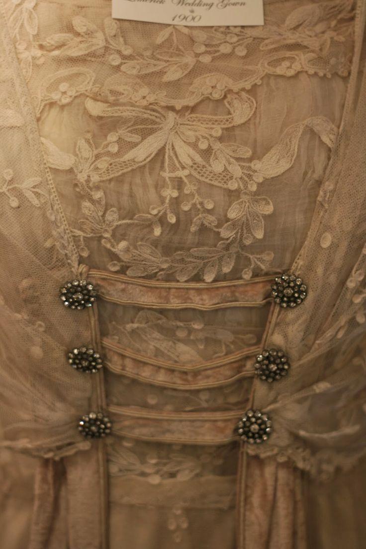 Розмари Кэткарт старинных кружев и винтажной моды: Античная Лимерик кружева