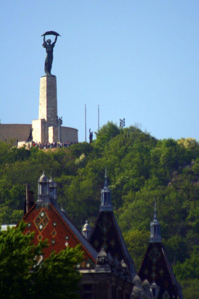 Liberty Statue. Budapest