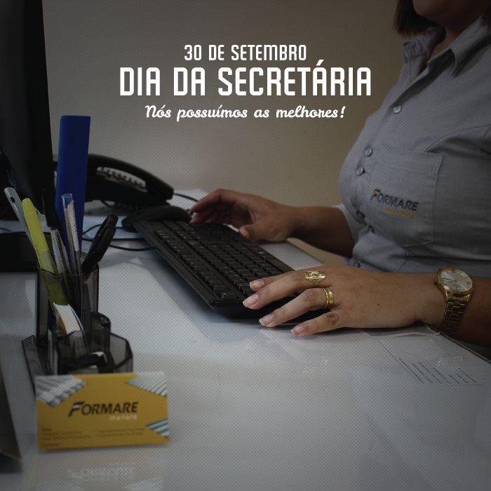 Queremos homenagear as nossas queridas e eficientes secretárias.  Afinal, nós possuímos as melhores s2 #FormareMetais #ObrasDeaço #DiaDaSecretária #Secretárias #Brasil