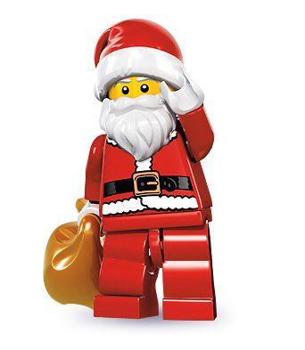 LEGO Minifigures Series 8 (10) Santa - Ông già Noel