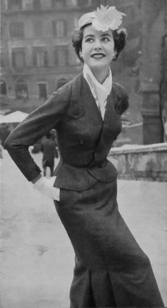 May 1955 Couture dress
