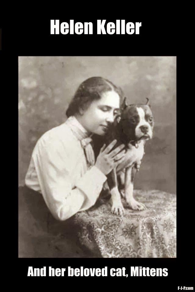 What Was Helen Kellers Cat Name