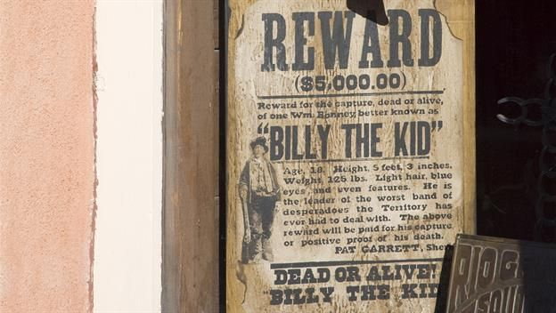 #SPG September 23 1875: Billy the Kid arrested for first time