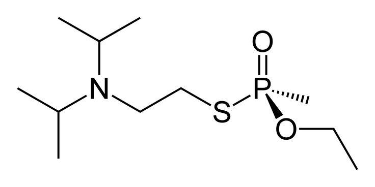 VX (nerve agent) - Wikipedia