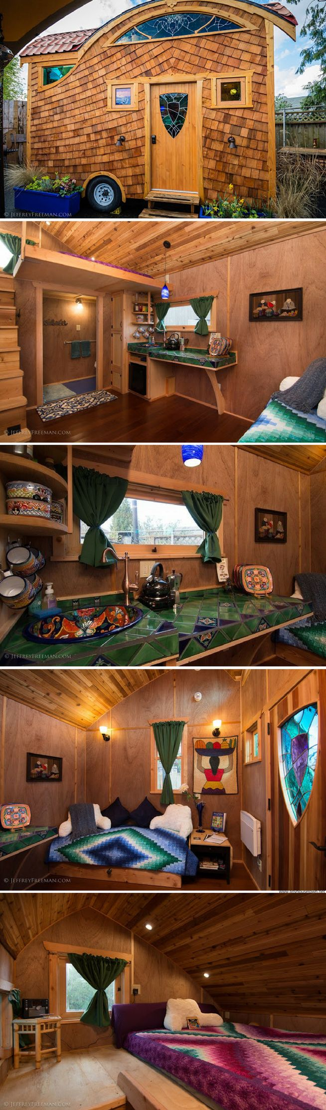 The Pacifica Tiny House (160 sq ft)