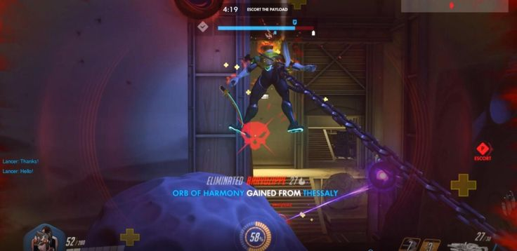 Overwatch With New Headshot Gore Mod