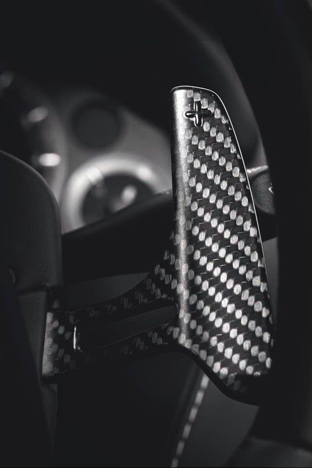 Aston Martin Vanquish (2015) Carbon Black Paddle Shifter