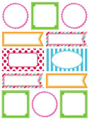 56 best Products I Love images on Pinterest Doilies, Giveaway - blank label template