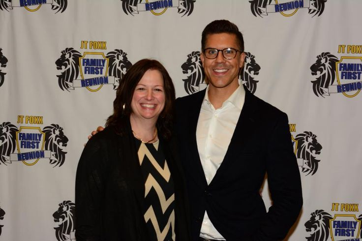"""Lynn Gebke with Fredrik Eklund from Million Dollar Listing New York. Fredrik said, """"Be who you are, Authentic!"""" That has to be the start to finding your passion in life."""