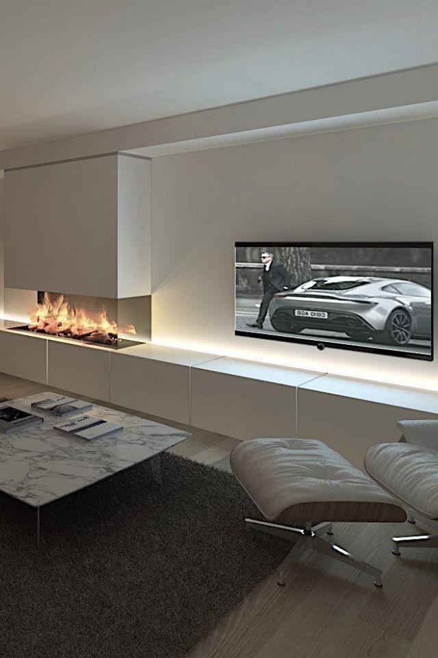 Perfekt Moderne Einrichtung, Wohnraum, Moderne Häuser, Impressionen, Einrichten Und  Wohnen, Rund Ums Haus, Garten, Runde, Winzige Wohnzimmer