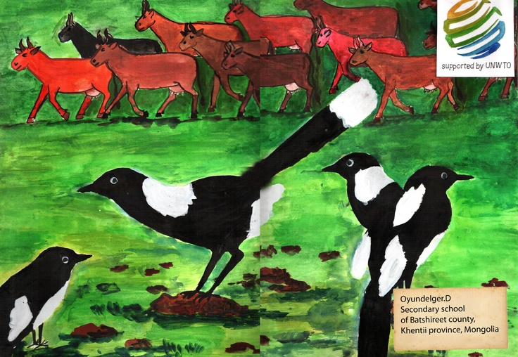 "Tour Mongolia – ""Homeland and Nature Protection"" painting competition to highlight WTM WRTD 2011"