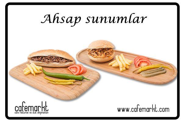 Ahşap sunum ürünleri Cafemarkt da. Ahşap burger tahtası, steak tahtası, peynir tahtası,pizza tahtası, kesme tahtası ve daha fazlası için tıklayın. Üstelik uygun fiyat ve avantajlı kargo seçenekleri ve kredi kartına vade farksız taksit olanağı ile. http://www.cafemarkt.com/ahsap-urunler-pmk337