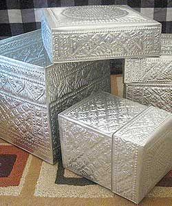 Aluminum Handicrafts - Container box set of 3