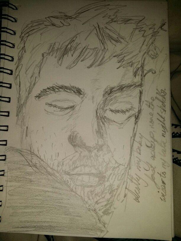 Scotty sleepy sketch