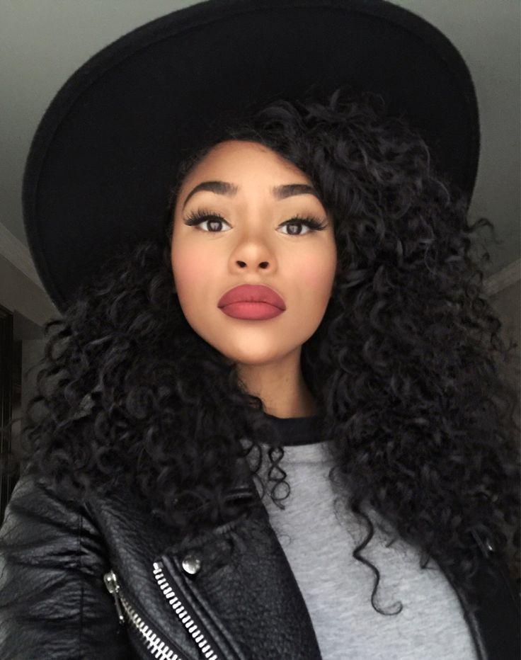 Cabelo Cacheado Natural Lindo Demais Curly Hair Girl