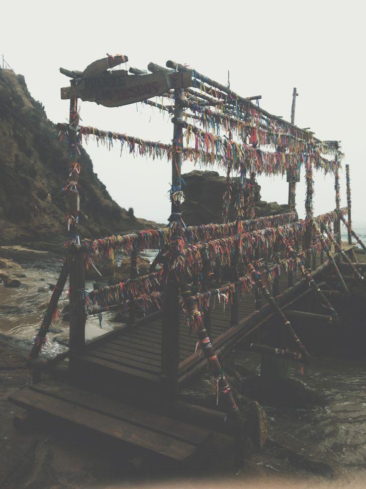 Bridge of desires, Horcón. Chile.
