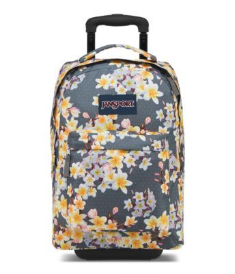Keep it rolling or throw it on your back, the JanSport Wheeled SuperBreak is versatile while on-the-go. Featuring tuck-away shoulder straps and a retractable handle, this rolling backpack is perfect for any adventure.