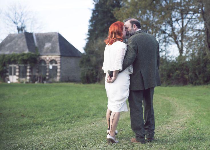 Angel Adoree and Dick Strawbridge open Chateau-de-la Motte Husson for Vintage Weddings and Unique Celebrations.