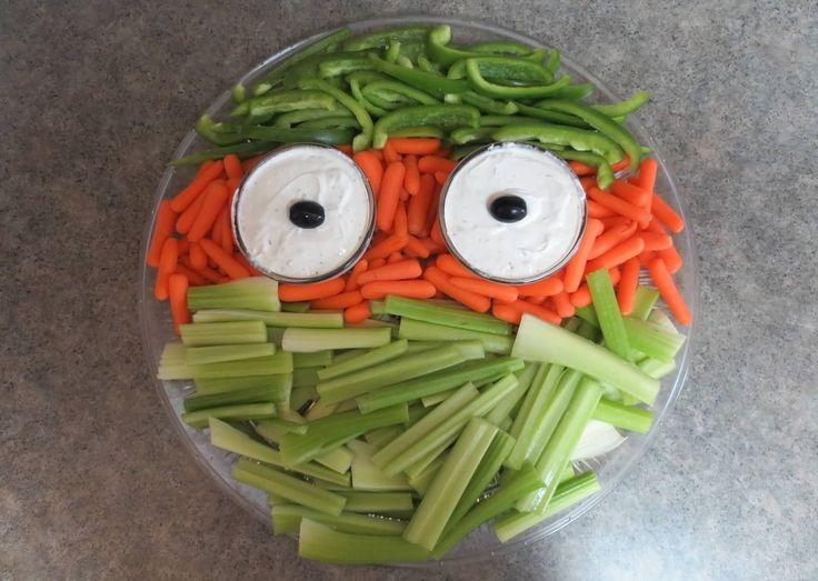 Tmnt party veggie tray